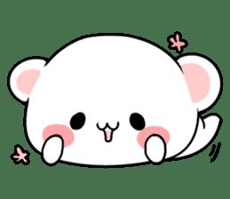 cute Bear to shout love Life. sticker #8298487