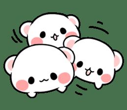 cute Bear to shout love Life. sticker #8298490