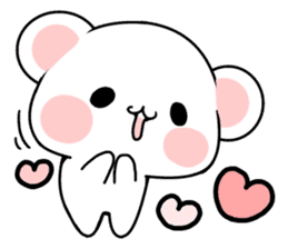 cute Bear to shout love Life. sticker #8298492