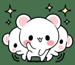 cute Bear to shout love Life. sticker #8298493