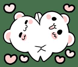cute Bear to shout love Life. sticker #8298494