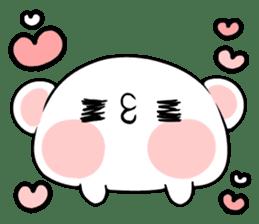 cute Bear to shout love Life. sticker #8298496