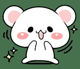cute Bear to shout love Life. sticker #8298497