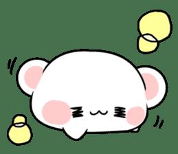 cute Bear to shout love Life. sticker #8298499