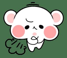 cute Bear to shout love Life. sticker #8298501