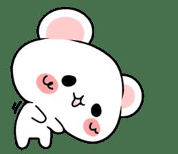 cute Bear to shout love Life. sticker #8298505