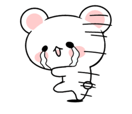 cute Bear to shout love Life. sticker #8298507