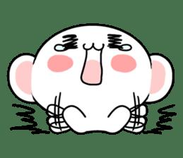 cute Bear to shout love Life. sticker #8298509
