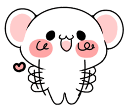 cute Bear to shout love Life. sticker #8298513