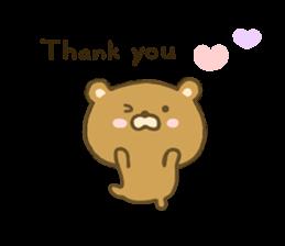 bear kumacha 3 sticker #8301556