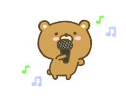 bear kumacha 3 sticker #8301559