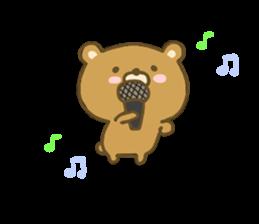 bear kumacha 3 sticker #8301559