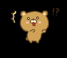 bear kumacha 3 sticker #8301562