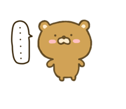 bear kumacha 3 sticker #8301565