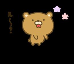 bear kumacha 3 sticker #8301567