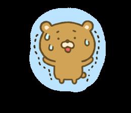 bear kumacha 3 sticker #8301569