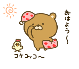 bear kumacha 3 sticker #8301570