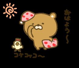 bear kumacha 3 sticker #8301570