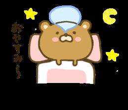 bear kumacha 3 sticker #8301571
