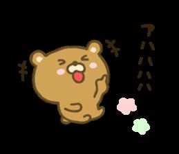 bear kumacha 3 sticker #8301575
