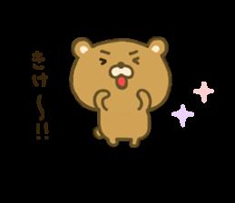 bear kumacha 3 sticker #8301577
