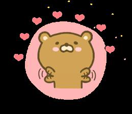 bear kumacha 3 sticker #8301578