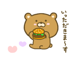 bear kumacha 3 sticker #8301580