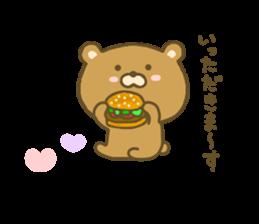 bear kumacha 3 sticker #8301580