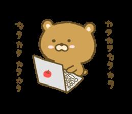 bear kumacha 3 sticker #8301582