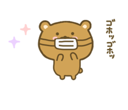bear kumacha 3 sticker #8301584