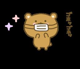 bear kumacha 3 sticker #8301584