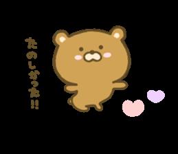 bear kumacha 3 sticker #8301588
