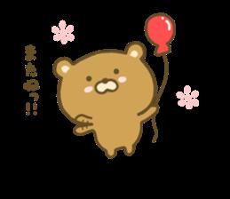 bear kumacha 3 sticker #8301589