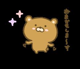 bear kumacha 3 sticker #8301591