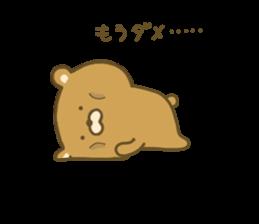 bear kumacha 3 sticker #8301593