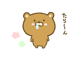 bear kumacha 3 sticker #8301594
