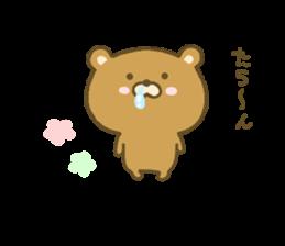 bear kumacha 3 sticker #8301594