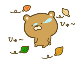 bear kumacha 3 sticker #8301595