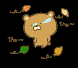 bear kumacha 3 sticker #8301595