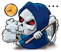JK Grim Reaper 02 sticker #8303520
