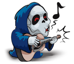 JK Grim Reaper 02 sticker #8303536