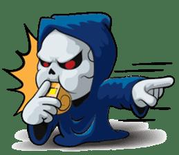 JK Grim Reaper 02 sticker #8303538