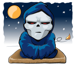 JK Grim Reaper 02 sticker #8303543