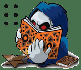 JK Grim Reaper 02 sticker #8303545