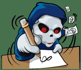 JK Grim Reaper 02 sticker #8303546