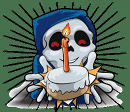 JK Grim Reaper 02 sticker #8303548