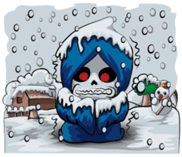 JK Grim Reaper 02 sticker #8303550