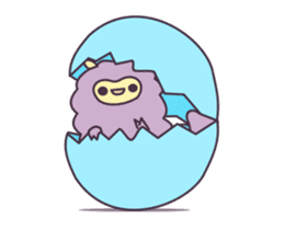 Little Purple Llama: Llamita sticker #8306358
