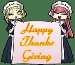 AOL ; Thanksgiving sticker #8306558