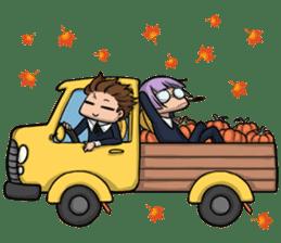 AOL ; Thanksgiving sticker #8306561
